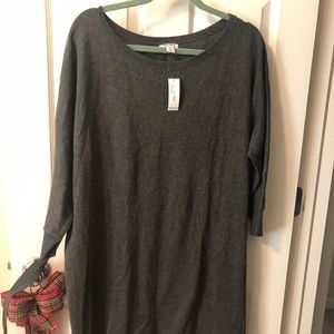 Old Navy Gray Sweater Dress New with Tags Size XL